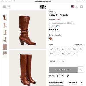 Frye Slouchy Knee High Boot 9